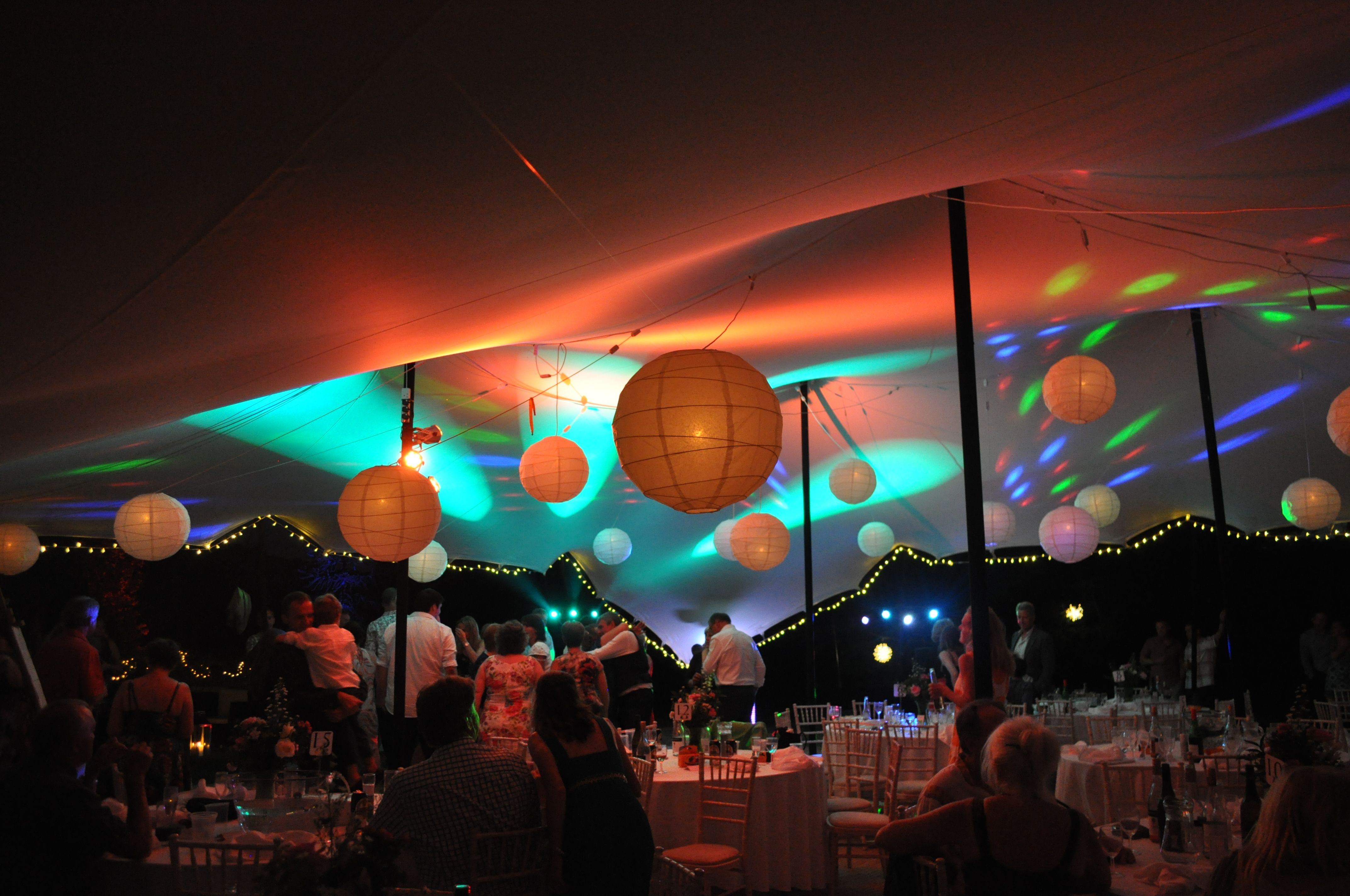wedding tent lighting ideas. The Stretch Tent Company Intelligent Lighting - Set To Respond Music Or Simply Remain Wedding Ideas