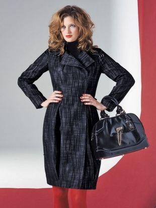 Coat - Pattern number 107 of the magazine 11/2008 Burda - pattern ...