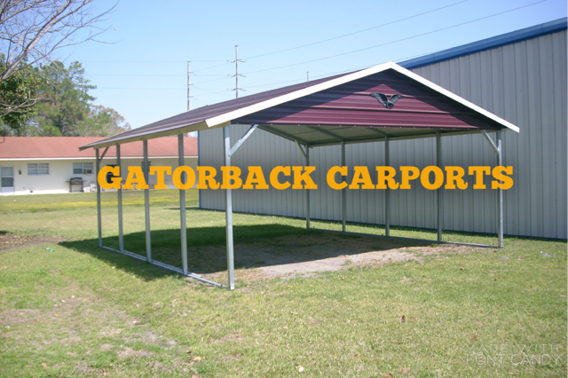 Www Gatorbackcarports Com This Is A Boxed Eave Carport You Can Go