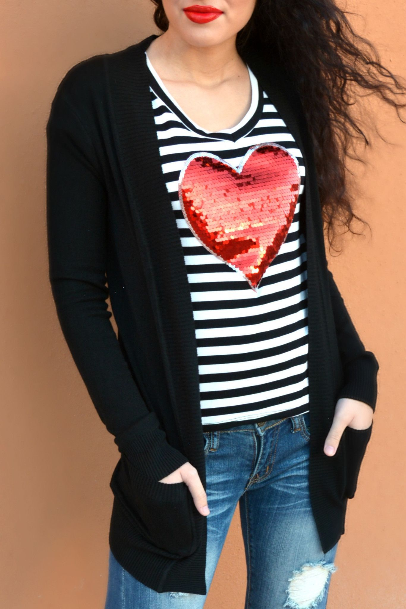 LaRue Boyfriend Cardigan - Black | clothes in fashion | Pinterest ...