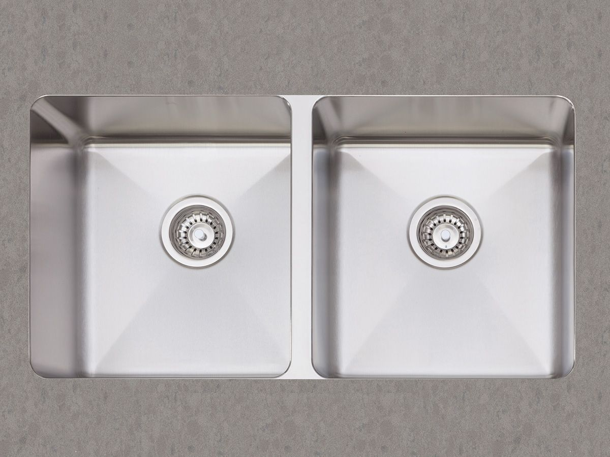 Afa | Cubeline | Double Undermount Kitchen Sink
