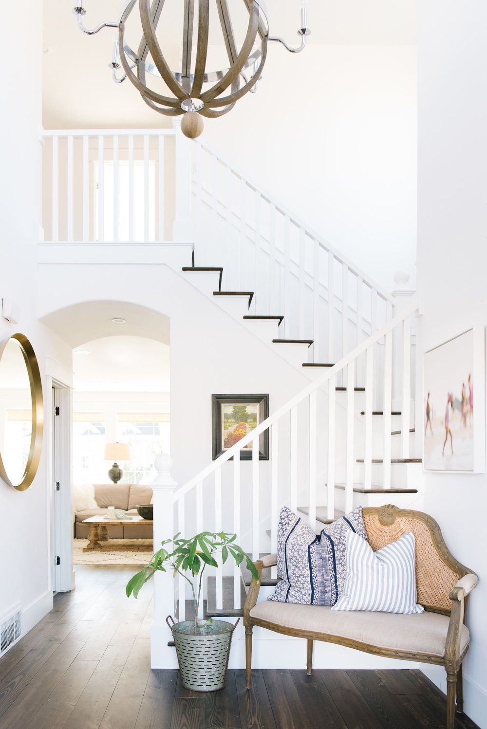 Entry And Home Office Interior Design Your Home Staircase Decor
