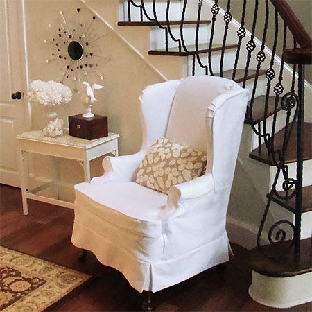 Wingback Chair Slip Covers Bing Images Home Crafts Diy
