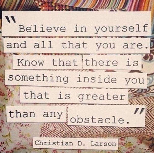 - Christian D. Larson