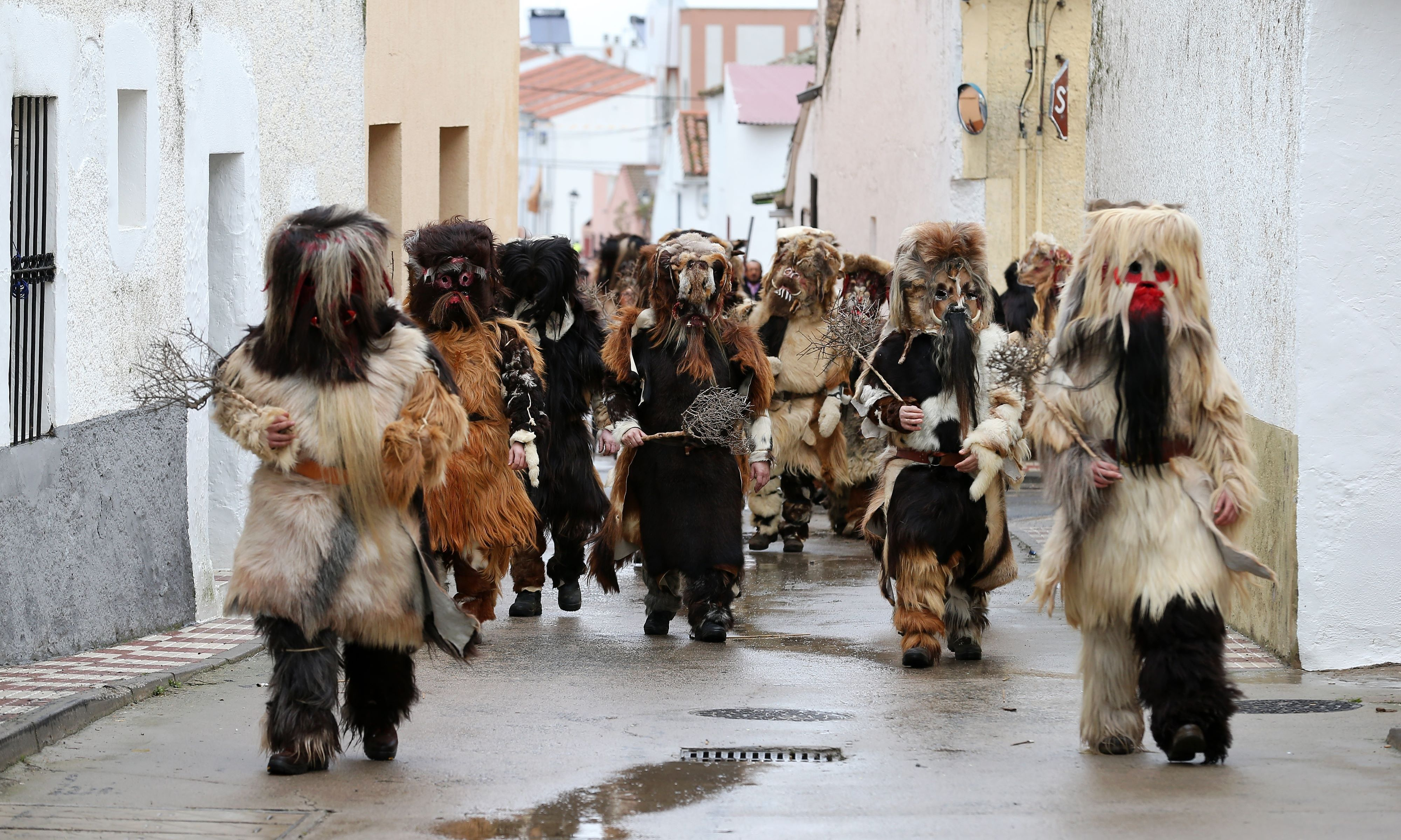Spain celebrates Saint Sebastian's feast day – in pictures