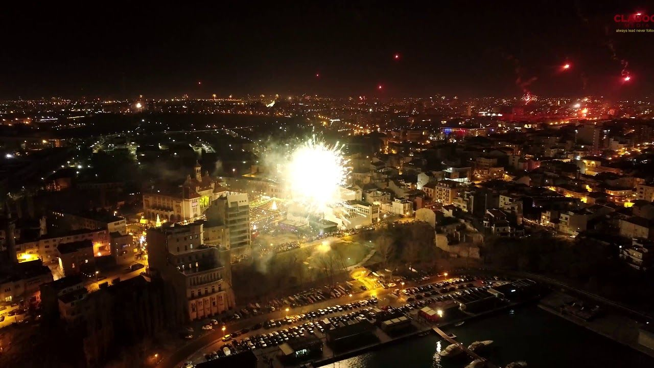 Constanta 2020 New Year Fireworks in 2020 New year