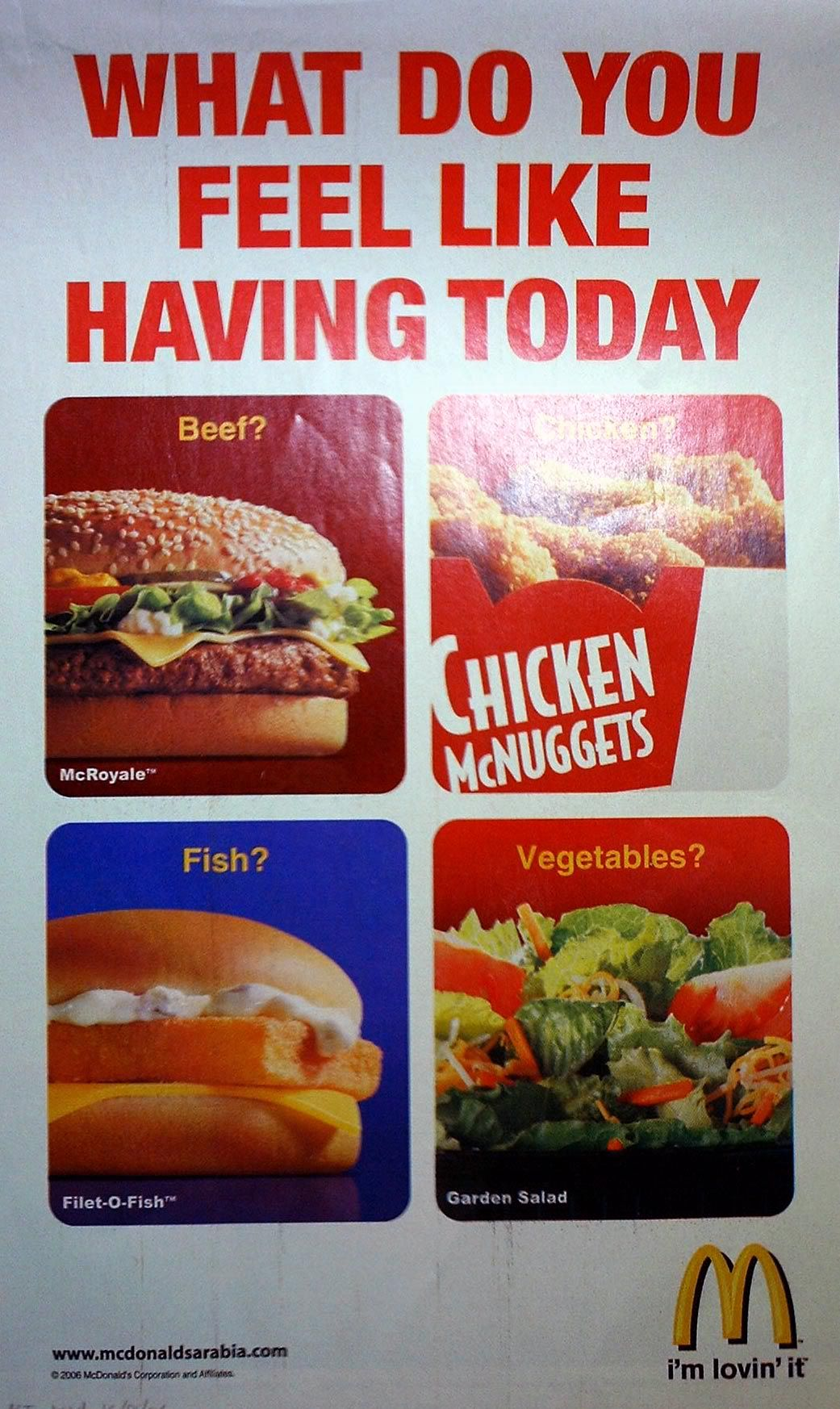 food safty food uae   mcdonals food | McDonald's is one of those rare MNC fast-food chains in the UAE, that ...