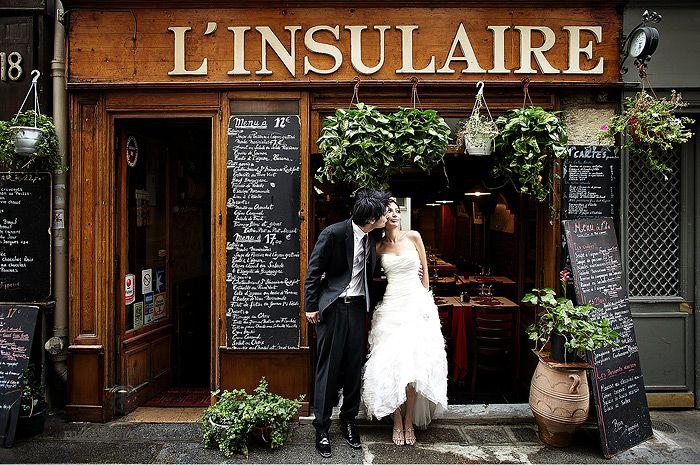 Paris wedding photo shoot