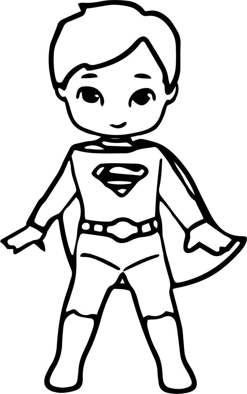 Waiting Cartoon Superhero Superman Kid Coloring Page Waiting Cartoon Superhero Superman Kid Coloring Page See The Categor Voor Kinderen Superman Kleurplaten