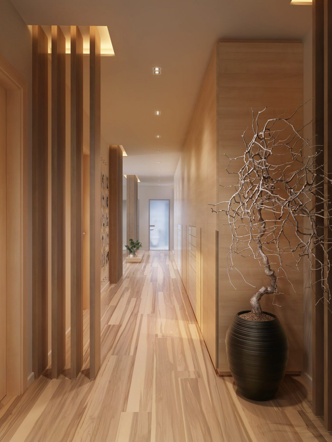 Mr Lalit Sharma S Residence In Kharghar Minimalist Living: Stunning Hallway Designs To Impress Your Guest