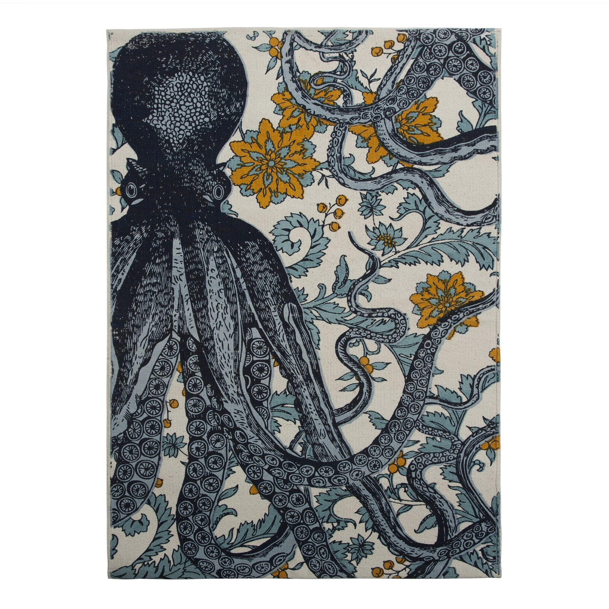Thomas Paul Bath Octopus Mat Allmodern