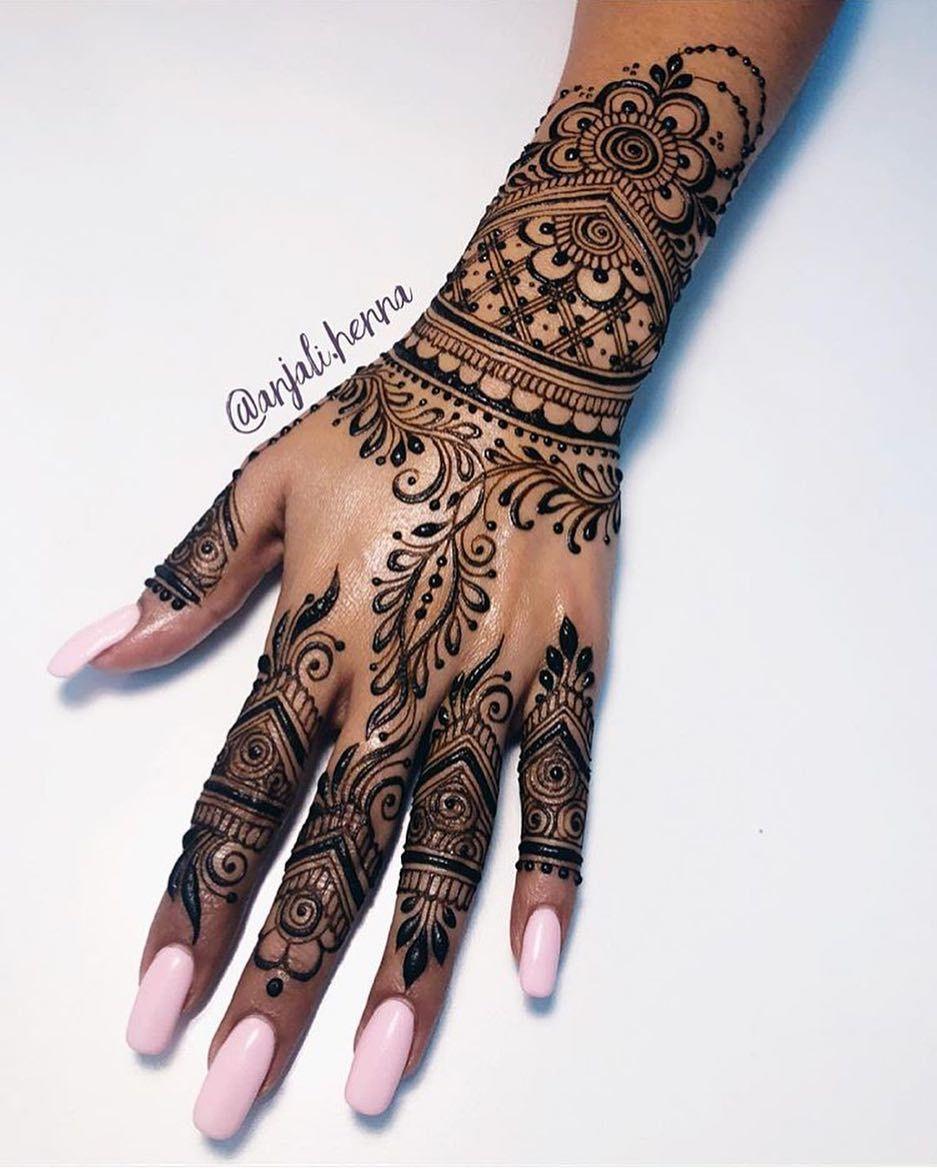 Love everything about this anjalihenna henna leg