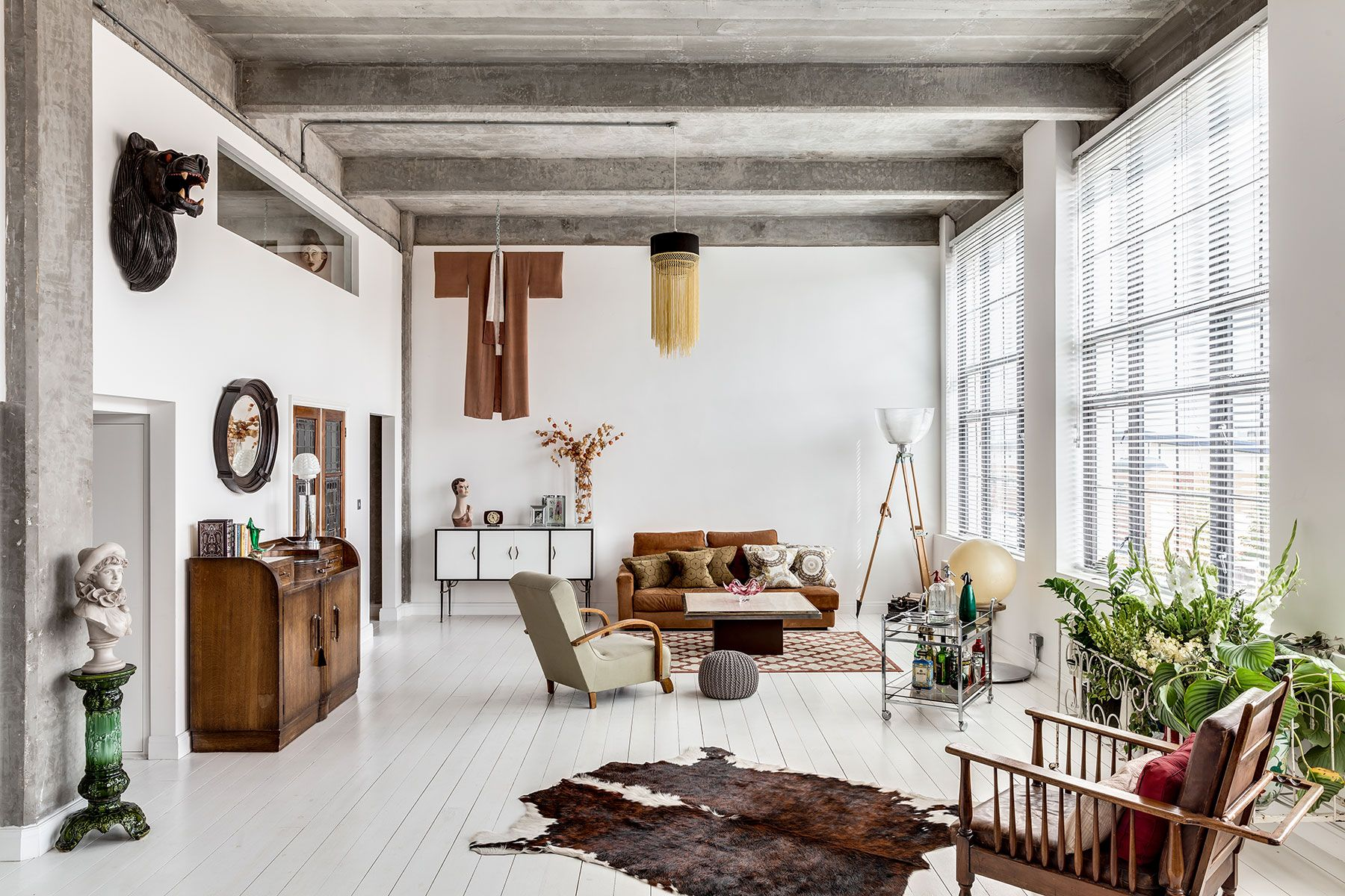Idee Deco Loft A Stunning Loft In London Set In An Art Deco Building The Style