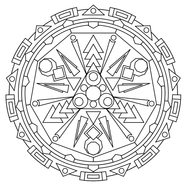 free printable mandala coloring pages - Free Printable Mandala Coloring Pages For Adults