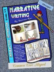Narrative Writing Interactive Notebook - Teach your students to write interesting narratives with this interactive notebook resource. .  A GIVEAWAY promotion for NARRATIVE WRITING INTERACTIVE NOTEBOOK COMMON CORE ALIGNED from TeachToTell on TeachersNotebook.com (ends on 5-31-2015)