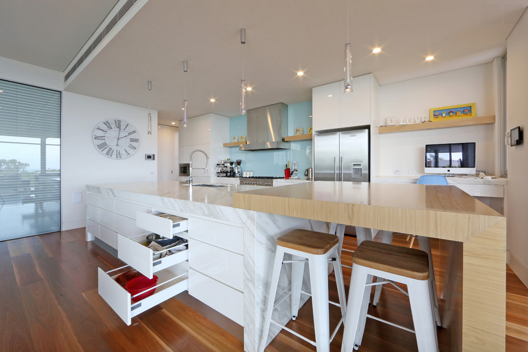 Super Super Cool Island With Table On End Kitchen Kitchen Alphanode Cool Chair Designs And Ideas Alphanodeonline