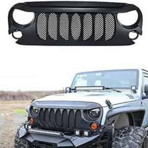 Jk Jeep Wrangler Eagle Eye Grille Jeep Wrangler Jk Jeep Jk