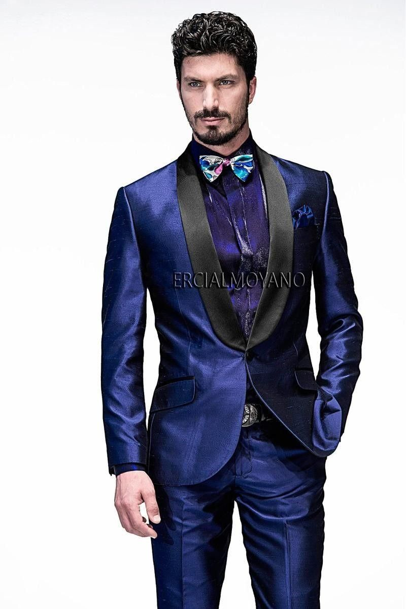 Brand New Mens Dinner Party Prom Suits Groom Tuxedos Groomsmen ...