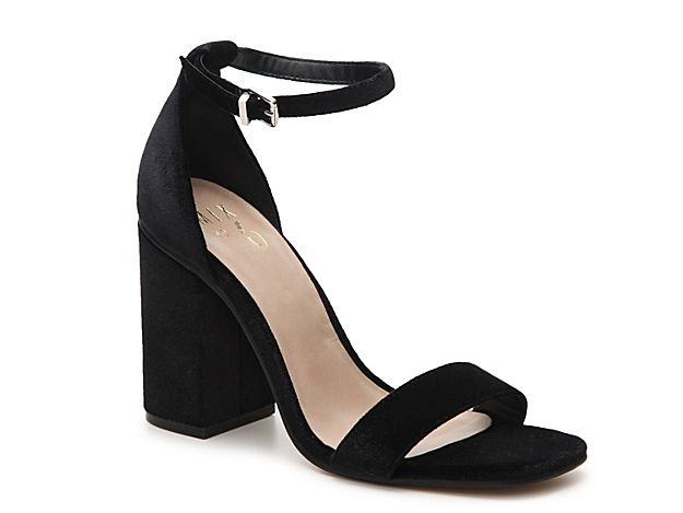 8221a5931f4 Women Cregan Velvet Sandal -Black Black High Heels