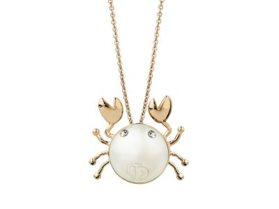 Cancer dior horoscope necklace jewelry pinterest dior fashion cancer dior horoscope necklace aloadofball Choice Image