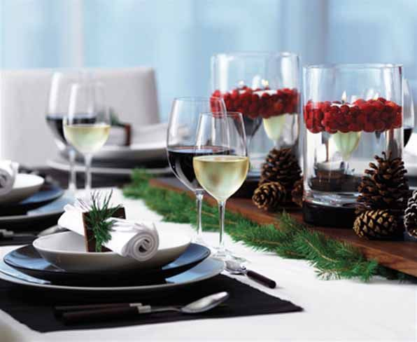 Inexpensive Green Holiday Decor Handmade Christmas Decorations And Table Centerpieces