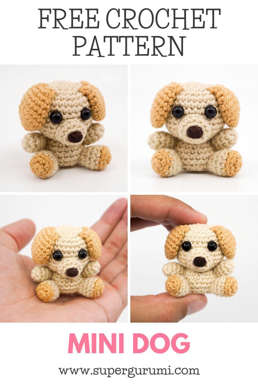 Mini Amigurumi Dog Crochet Pattern