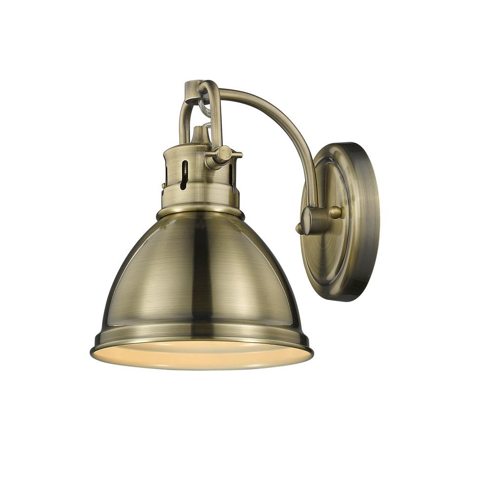 solid brass wall bath blake lights bathroom bell finish products traditional pb polished light shade fixtures