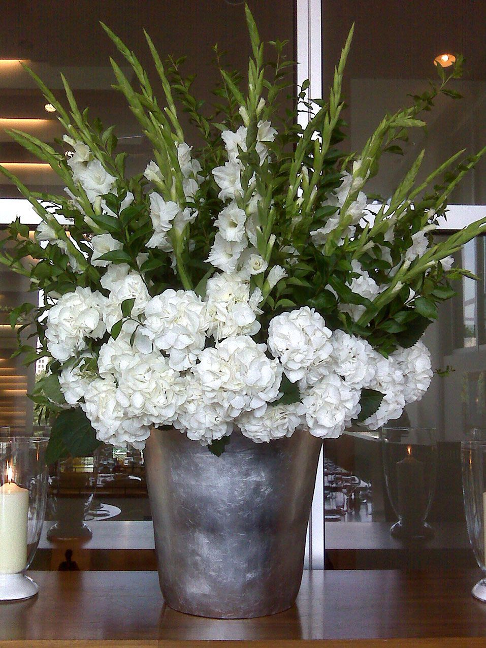 Gallery Mcqueens Florist Hydrangea Arrangements Large Flower Arrangements Hotel Flowers