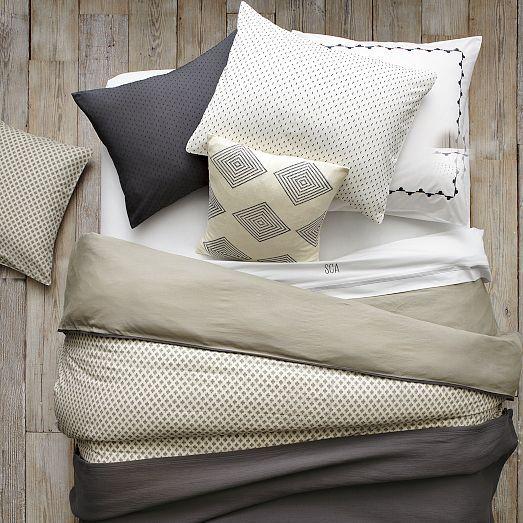 Perfect Swiss Dot Duvet Cover + Shams   West Elm Design Inspirations
