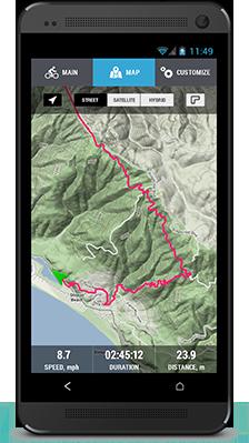 Best Cycling App Garmin Cycling Computer VeloPal
