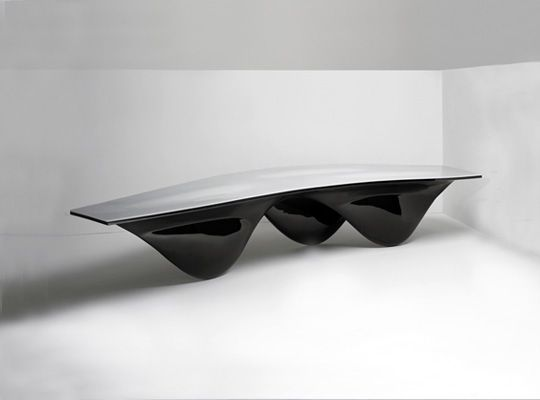 Aqua Table by Zaha Hadid for Established & Sons