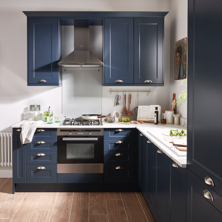 midnight hue trend in 2020 Kitchen fittings, Porcelain