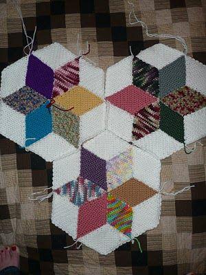 Inspiración con rombos y triángulos!