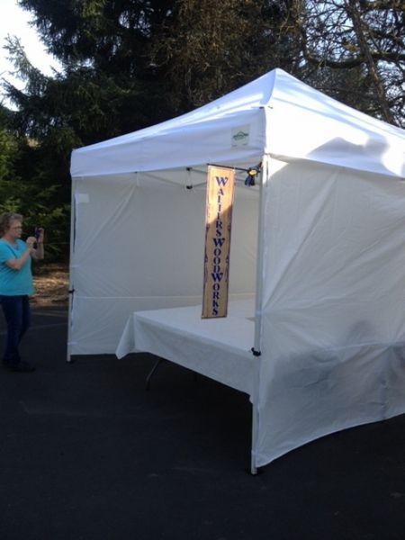 Craft Show 10x10 Canopy Package Deal + 4 Sidewalls u0026 Weight Bags & Craft Show 10x10 Canopy Package Deal + 4 Sidewalls u0026 Weight Bags ...