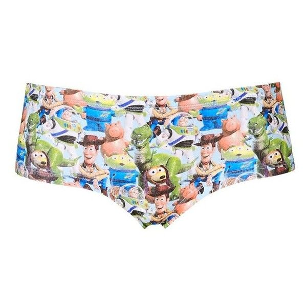Topshop Toy Story Cheeky Boyshorts 8 Liked On Polyvore