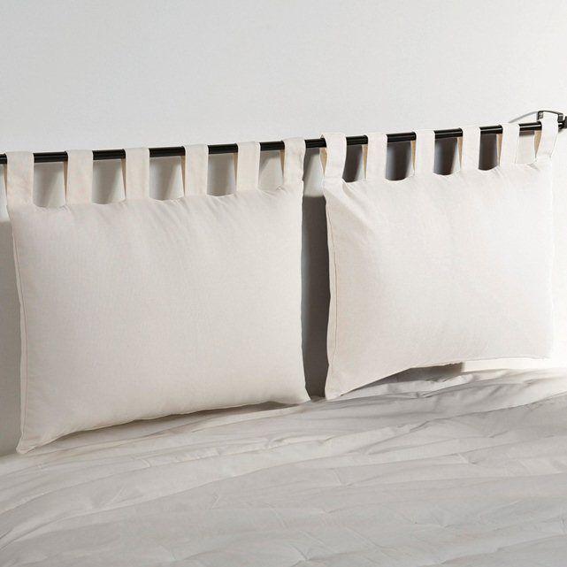 Cuscini Poggiatesta Per Letto.Confezione Da 2 Federe Per Testata Letto Headboard Cover Canvas Headboard Cushion Headboard