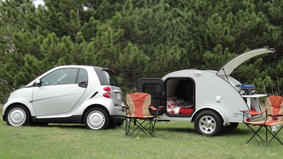 Little Guy 4x7 Deuce 4x7 Deuce Ultra Light Weight Trailer Compact Camper Or Simply A Cargo Trailer The Lil Smart Car Little Guy Trailers Teardrop Camper