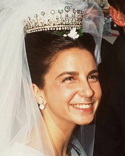 Sua Alteza Real a Senhora D. Isabel de Herédia Duquesa de Bragança em seu casamento.