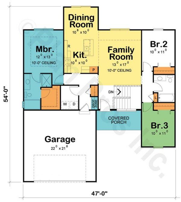 House Plan No 153739 House Plans By Westhomeplanners Com Southern House Plans House Plans New House Plans