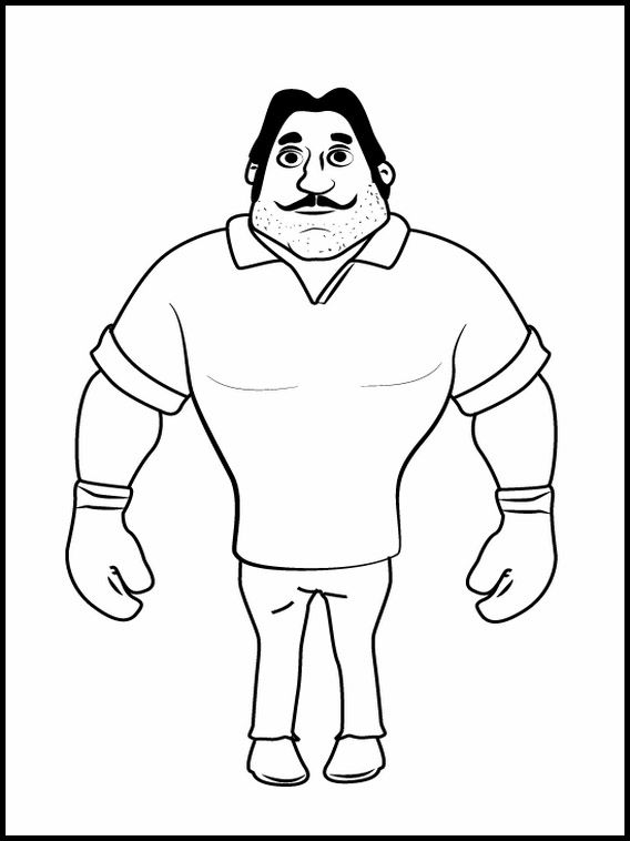 Motu Patlu 3 Printable Coloring Pages For Kids Kids Printable Coloring Pages Printable Coloring Book Coloring Pages