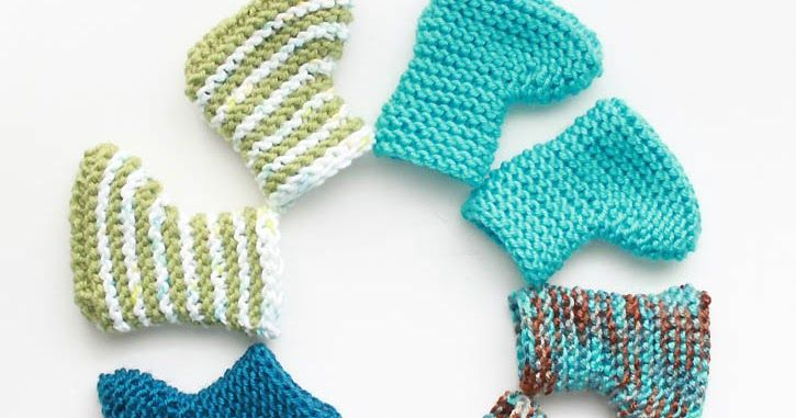 Easy Knit Newborn Baby Booties All About Baby Pinterest