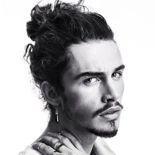 Cool 20+ Trendy Man Bun & Top Knot Hairstyles