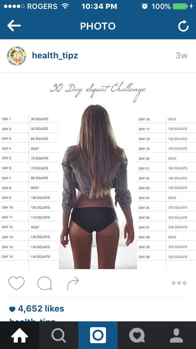 50 squat workout