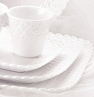 Le collezioni - La Porcellana Bianca | White Porcelain & Milk Glass ...