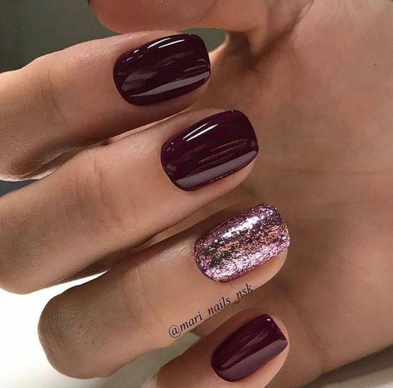 65 Christmas Nail Colors Xmas Nails For New Years