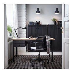 GREGOR Bureaustoel - , zwart/Svanby grijs - IKEA
