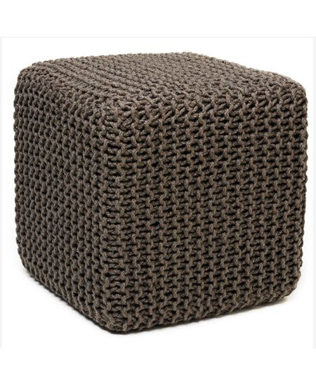 21 Ways To Make Your Home Fairtrade And Sustainable Square Pouf Ottoman Pouf Ottoman