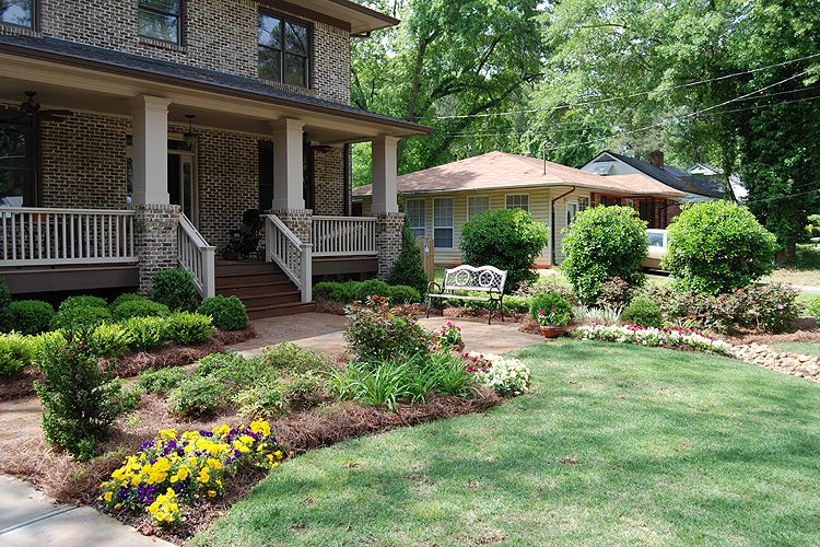 ranch home landscaping ideas