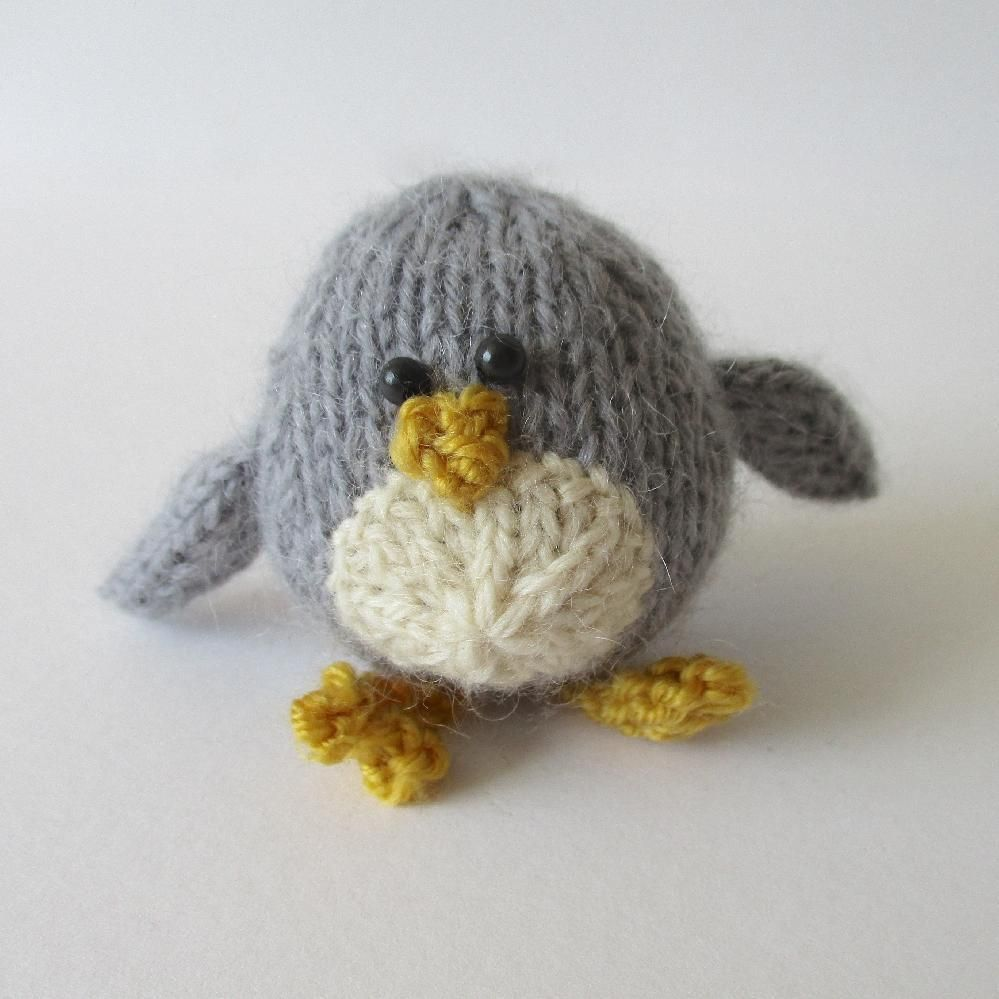 Chirpy Birds Knitting pattern by Amanda Berry | Knitting ...