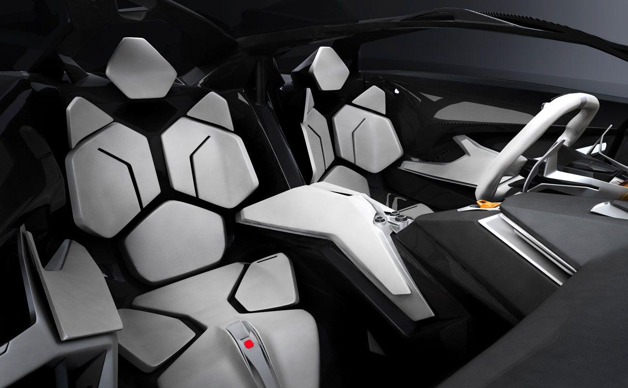 Lamborghini Perdigon Concept Interior Futuristic Cars Lamborghini Concept Futuristic Cars Interior